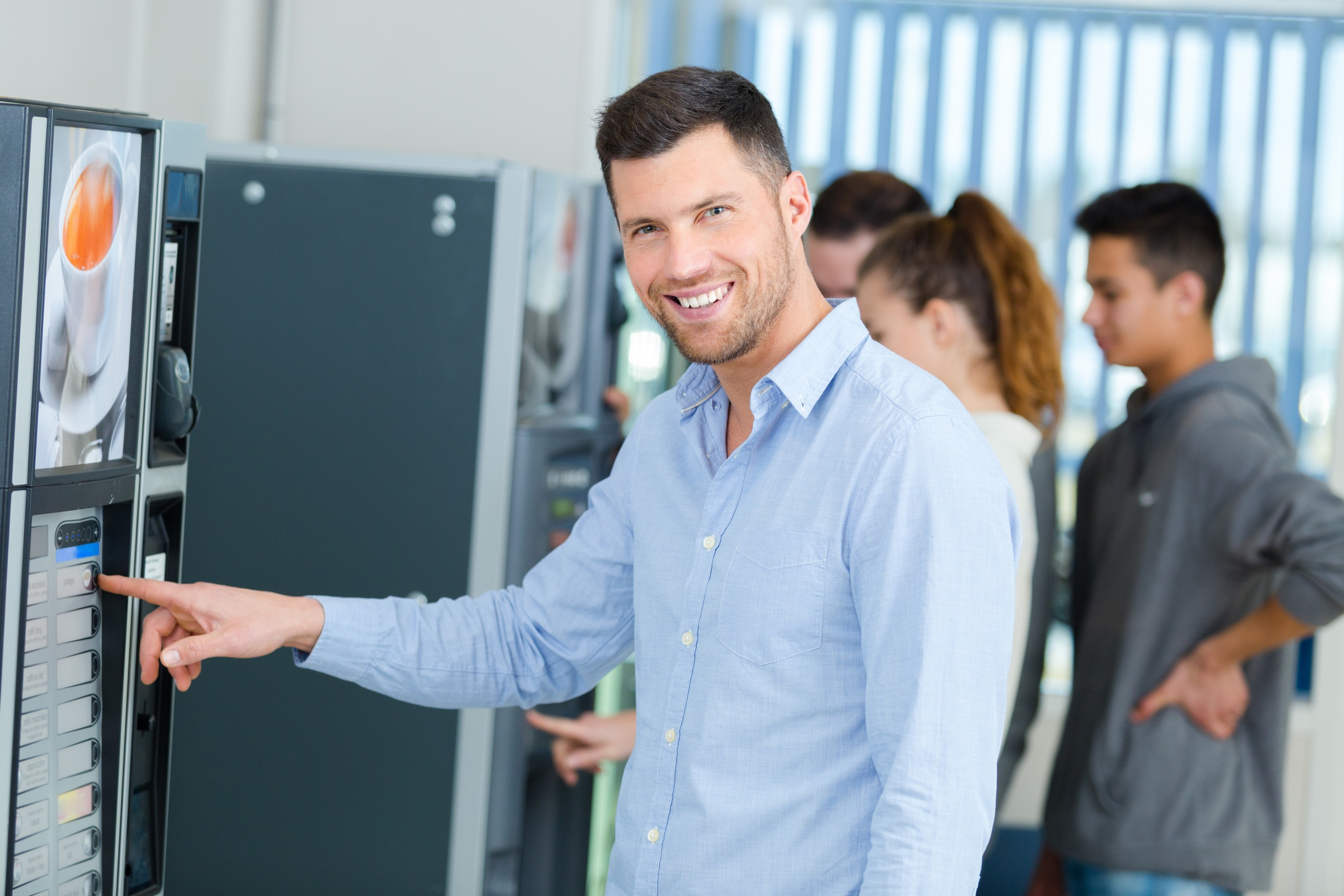 vending technology in tampa break rooms