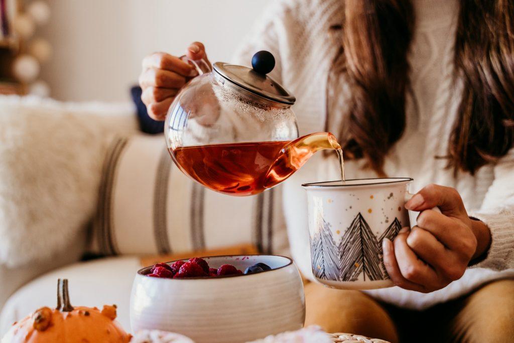 Hot tea in Tampa